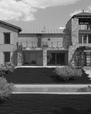 villa v6 passive house macerata severini associati